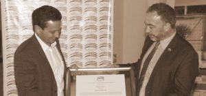 Business Recognition to Alvaro Molina, Partner of Central Law Nicaragua