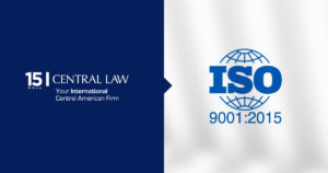 CENTRAL LAW achieved International Norm ISO 9001.2015 (Quality Management Systems)