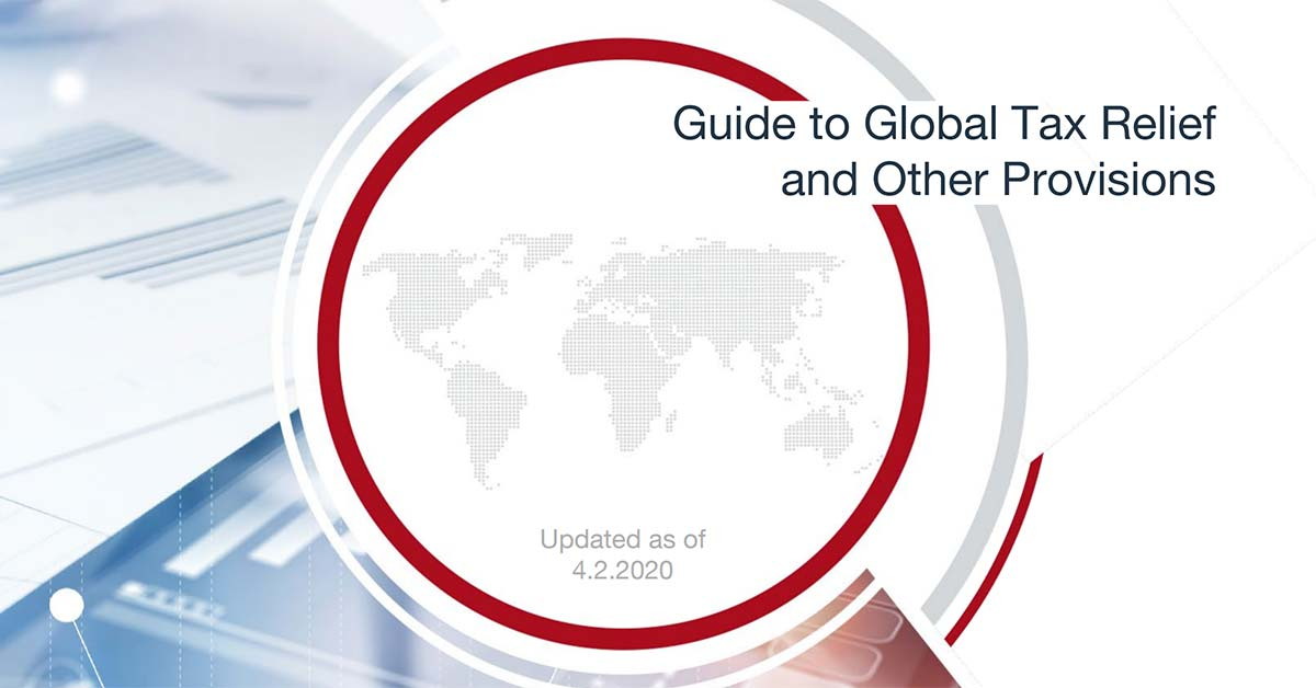 Andersen Global: COVID-19 Global Tax Relief