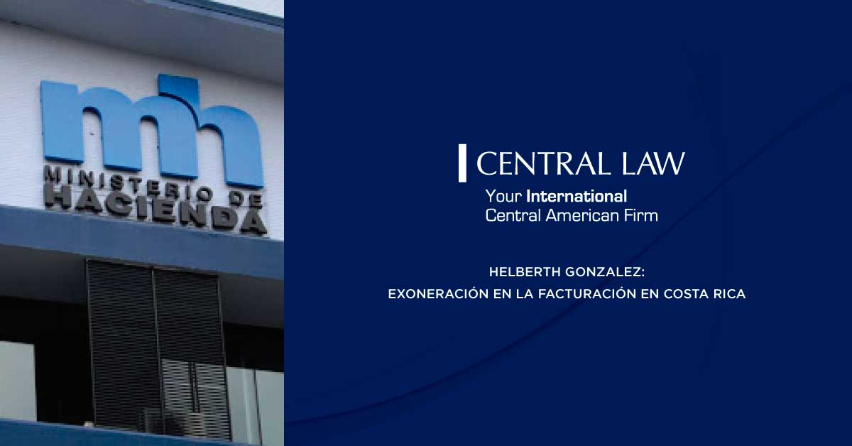 Costa Rica: Exoneración y factura electrónica