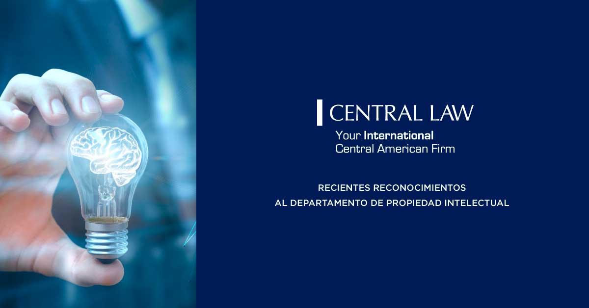 Recientes reconocimientos al departamento de propiedad intelectual