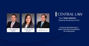 Plan De Reapertura y Reactivación económica de Honduras
